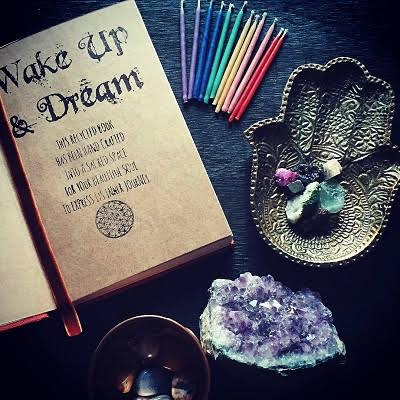 Wake up and dream handmade journals
