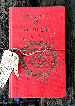 My soul is my guide hand made journal