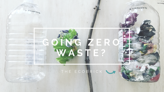 Zero Waste Tips: Introducing the Ecobrick plastic bottle