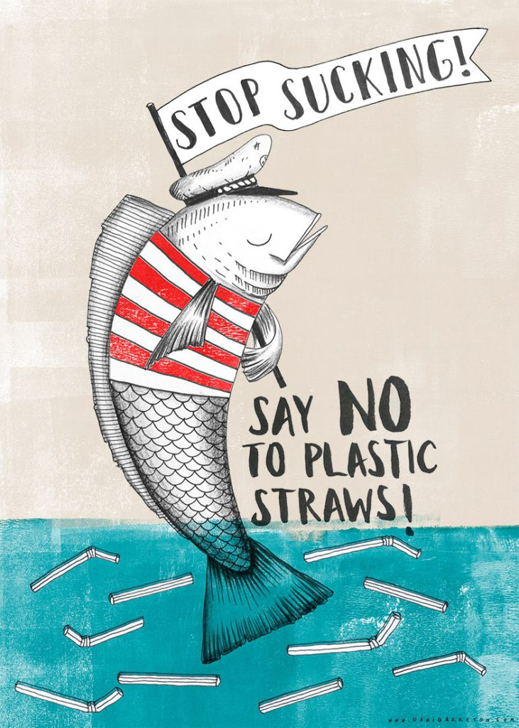 Stop sucking - say no to plastic straws