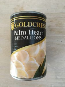 Palm Heart Medallions