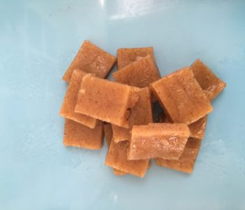 Creamy raw vegan fudge