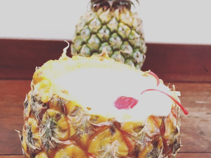 pina colada pineapple
