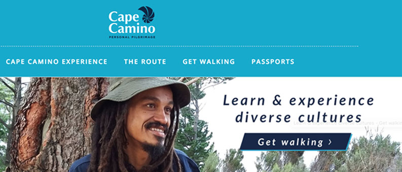 Cape Camino Portfolio Web design and development